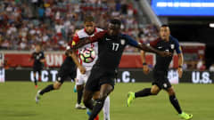 JACKSONVILLE, FL - SEPTEMBER 06:  Jozy Altidore #17 of the United States attempts a shot during the FIFA 2018 World Cup Qualifier against Trinidad & Tobago at EverBank Field on September 6, 2016 in Jacksonville, Florida.  (Photo by Sam Greenwood/Getty Images)