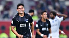 DOHA, QATAR - DECEMBER 21: Arturo Gonzalez of C.F. Monterrey celebrates scoring his sides first goal during the FIFA Club World Cup 2019 3rd place match between Monterrey and Al Hilal FC at Khalifa International Stadium on December 21, 2019 in Doha, Qatar. (Photo by Lukas Schulze - FIFA/FIFA via Getty Images)