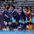 BUENOS AIRES, ARGENTINA - OCTOBER 15: Miu Maeda #4 of Japan celebrate with her team mates after scoring a goal in the Women's Futsal semi final match between Spain and Japan during the Buenos Aires Youth Olympics 2018 at Tecnopolis on October 15, 2018 in Buenos Aires, Argentina.  (Photo by Martin Rose - FIFA/FIFA via Getty Images)