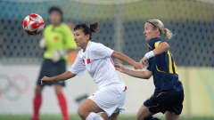 The game ended 2-1 in the hosts' favor in Tianjin on Wednesday, 6 August.