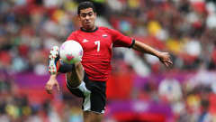 Fathi Ahmed of Egypt controls the ball during the Men's Football first round Group C Match between Egypt and New Zealand on Day 2 of the London 2012 Olympic Games at Old Trafford on July 29, 2012 in Manchester, England.  (Photo by Joern Pollex - FIFA/FIFA via Getty Images)