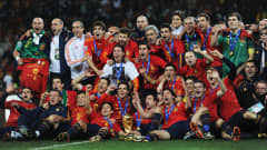 Spain celebrate their South Africa 2010 conquest