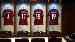 ABU DHABI, UNITED ARAB EMIRATES - DECEMBER 22:  A general view inside the Kashima Antlers changing room prior to the FIFA Club World Cup UAE 2018 3rd Place match between River Plate and Kashima Antler at the Zayed Sports City Stadium on December 22, 2018 in Abu Dhabi, United Arab Emirates.  (Photo by David Ramos - FIFA/FIFA via Getty Images)