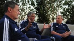 Gabriel Calderon, Gines Melendez, Francisco Maturana, Tefoilo Cubillas and Mariano Moreno met FIFA.com in Turkey for a great chat about youth football, the FIFA World Cup 2010, the number 10 and many other topics.