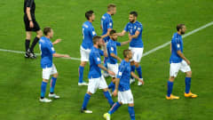 UDINE, ITALY - JUNE 11:  Andrea Belotti  of Italy celebrates after scoring  his team's second goal during the FIFA 2018 World Cup Qualifier between Italy and Liechtenstein at Stadio Friuli on June 11, 2017 in Udine, Italy.  (Photo by Dino Panato/Getty Images)