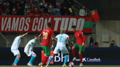 IMAGO / GlobalImagens  2022 World Cup Qualification: Portugal vs Luxembourg Loulé, 12/10/2021 - AA Selection - Portugal hosted Luxembourg tonight, counting for the 2022 World Cup qualification, at the Algarve Stadium.