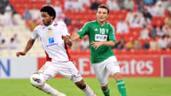 AFC Champions League: Action from the match between Al Ahli and Al Jazeera