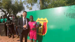 FIFA Goalkeeping Specialist Pascal Zuberbühler in Mali