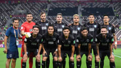 DOHA, QATAR - DECEMBER 21: Players of C.F. Monterrey pose for a team photo ahead of the FIFA Club World Cup Qatar 2019 3rd place match between Monterrey and Al Hilal FC at Khalifa International Stadium on December 21, 2019 in Doha, Qatar. (Photo by David Ramos - FIFA/FIFA via Getty Images)