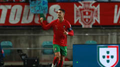 IMAGO / GlobalImagens  2022 World Cup Qualification: Portugal vs Luxembourg Loulé, 12/10/2021 - AA Selection - Portugal hosted Luxembourg tonight, counting for the 2022 World Cup qualification, at the Algarve Stadium. Cristiano Ronaldo s goal celebrations;