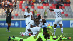 Drawn in the same group as women's football powerhouses Japan and USA, Ghana knew they would have to dig deep if they were to advance to the knockout phase. Though their campaign began in undistinguished fashion with a 5-0 defeat to the Little Nadeshiko, coach Evans Adotey was adamant her side could beat the Americans. Her faith was rewarded as Ghana came from behind to win 2-1, with captain Sandra Owusu Ansah converting a match-winning penalty six minutes from time, prompting scenes of joy for the Africans.