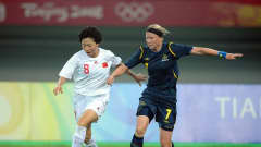 China played opener agaisnt Sweden in Tianjin on Wednesday, 6 August.