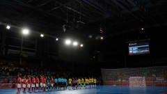 BUENOS AIRES, ARGENTINA - OCTOBER 18:  A general view of Tecn—polis prior to the Men's Futsal Final match between Brazil and Russia during the Buenos Aires Youth Olympics 2018 on October 18, 2018 in Buenos Aires, Argentina.  (Photo by Kevin C. Cox - FIFA/FIFA via Getty Images)