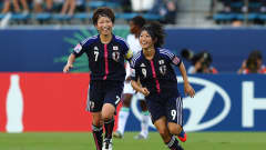 TOKYO, JAPAN - SEPTEMBER 08:  Yoko Tanaka (#9) of Japan celebrates after she scores her team's opening goal during the FIFA U-20 Women's World Cup Japan 2012, Third place match between Nigeria and Japan at National stadium on September 8, 2012 in Tokyo, Japan.  (Photo by Martin Rose - FIFA/FIFA via Getty Images)