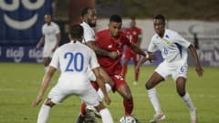 Image of the match between Panama and Curaçao as part of Concacaf Qualifier for Qatar 2022 (Photo: @Fepafut)