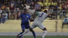 Image of the match between Curaçao and Panama as part of Concacaf Qualifier for Qatar 2022 (Photo: @Fepafut)
